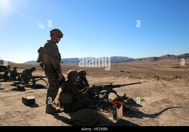 with Security Platoon, Headquarters Battalion, 1st Marine Division ...