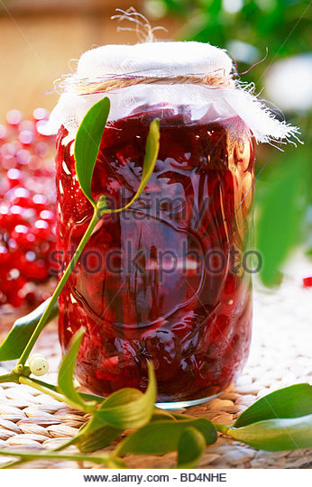 Zakwas (Soup ingredient with beetroot, Poland) - Stock Image