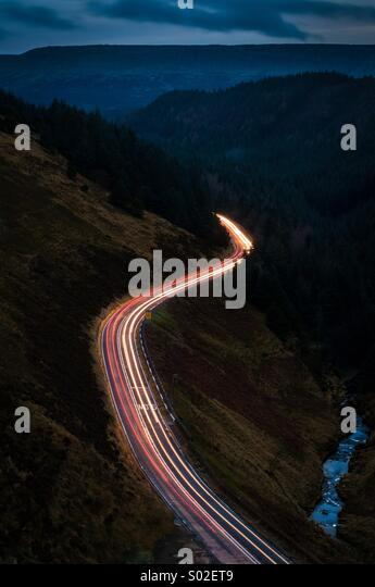 Snake Pass - Stock Image