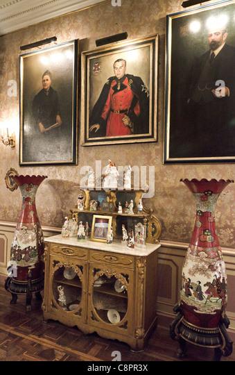 Casa Aliaga interior Lima Peru - Stock Image