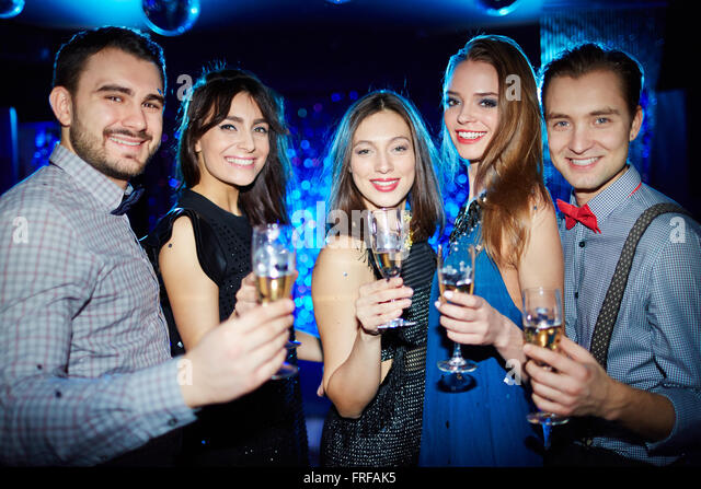 Elegant people - Stock Image