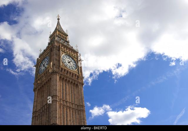 Big ben, London.UK - Stock Image