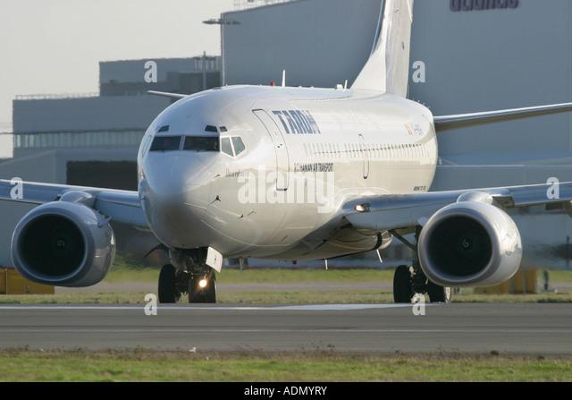 Tarom Boeing 737-78J - Stock Image