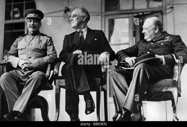 Tehran, Yalta and Potsdam Conferences