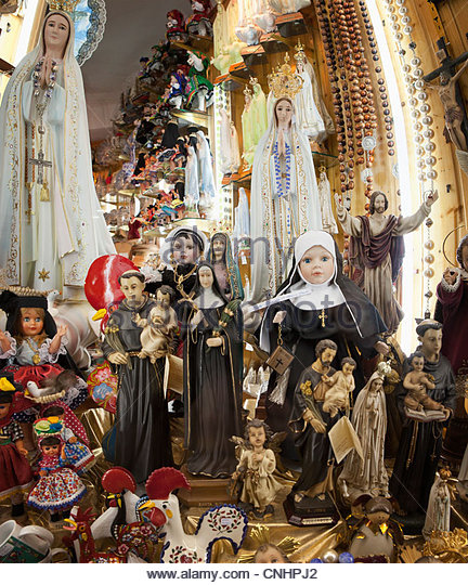 Catholic souvenirs - Stock-Bilder