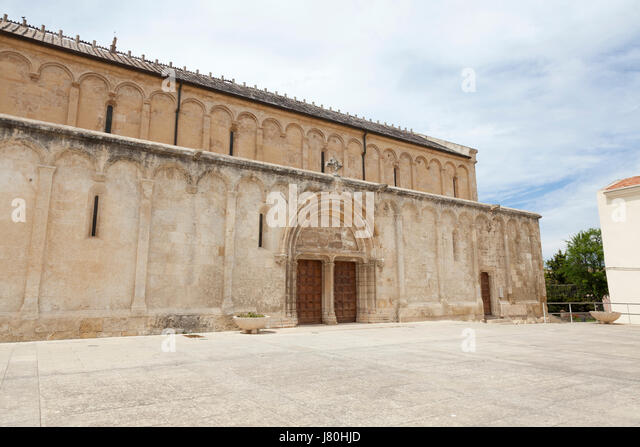 San Gavino basilica, porto torres, sardinia, i - Stock Image