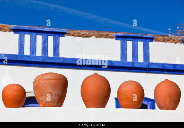 Pots Earthenware Terracotta Europe Stock Photos Amp Pots