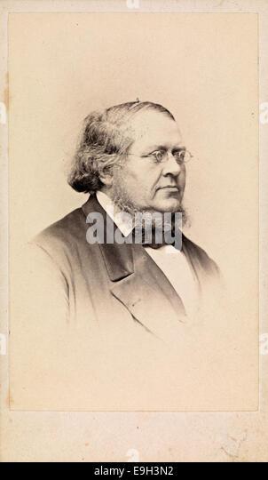 Portrett av Peter Christen Asbjørnsen, ca 1865 - Stock-Bilder