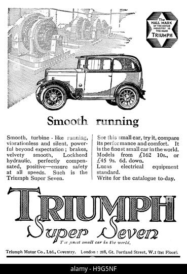 1930s car advert stock photos  u0026 1930s car advert stock