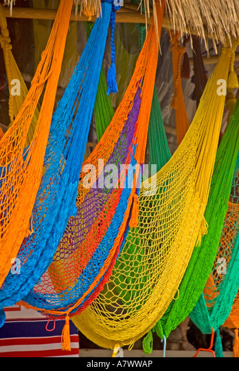 Puerto Costa Maya resort area port shopping - Stock Image
