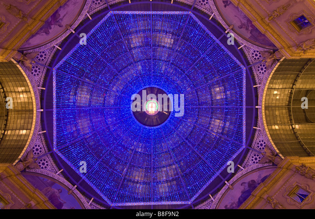 Galleria Vittorio Emanuele Milan Italy - Stock Image
