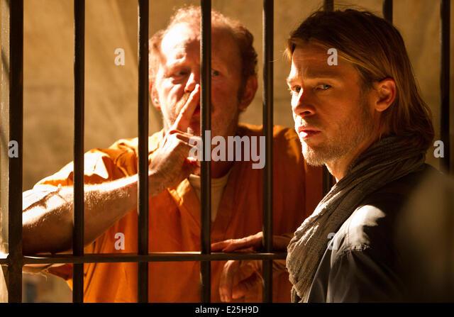 World War Z - stills  Featuring: David Morse,Brad Pitt Where: Etats-Unis When: 05 Sep 2011le - Stock Image