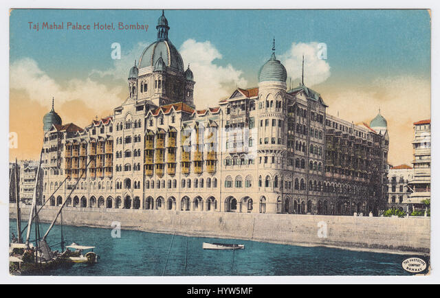 The Taj Mahal Palace Hotel, Mumbai, India - Stock Image