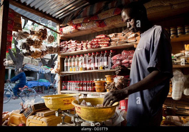 Kolda, Senegal, West Africa. - Stock Image