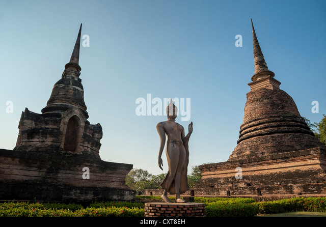 Wat Sra Sri Temple In Stock Photos & Wat Sra Sri Temple In ...