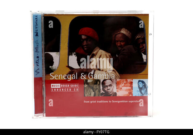 World Music Network Senegal And Gambia Music CD - Stock Image