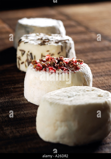 Innes Goats cheese - Stock Image