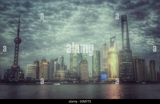Shanghai Pudong - Stock Image