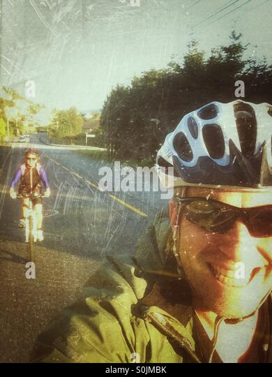 Cycle trip - Stock Image