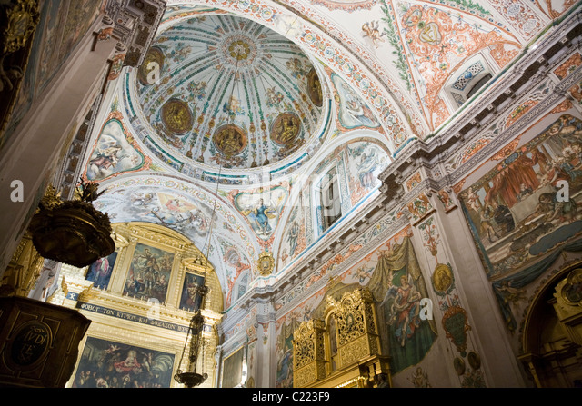 Sacerdote stock photos sacerdote stock images alamy for Clarks mural fresco