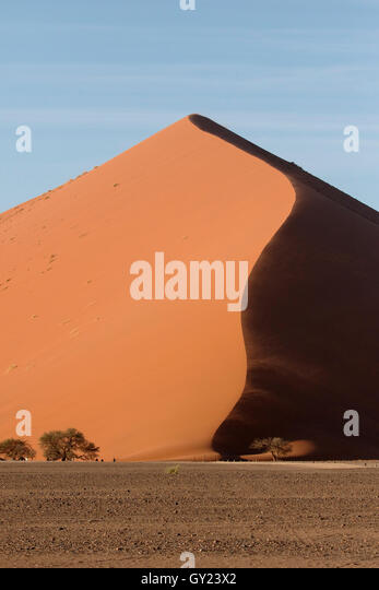 Sossusvlei Namib-Naukluft, Namibia,  August 2016 - Stock Image
