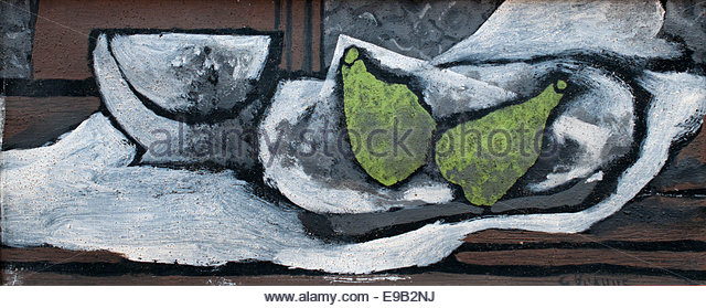 Still life with with pears 1922 George Braque 1882 - 1963 France French - Stock Image