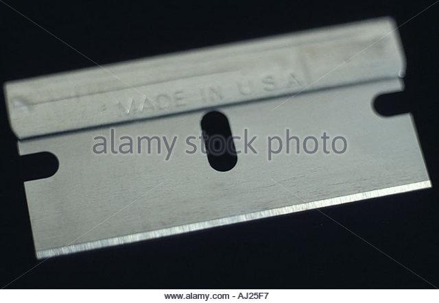 still life of blade - Stock Image