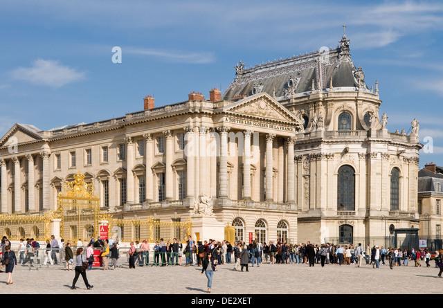 Paris france versailles stock photos paris france versailles stock images alamy - Palais des expositions porte de versailles ...