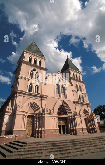 Dominican Republic Cathedral de Santiago Apostol - Stock Image