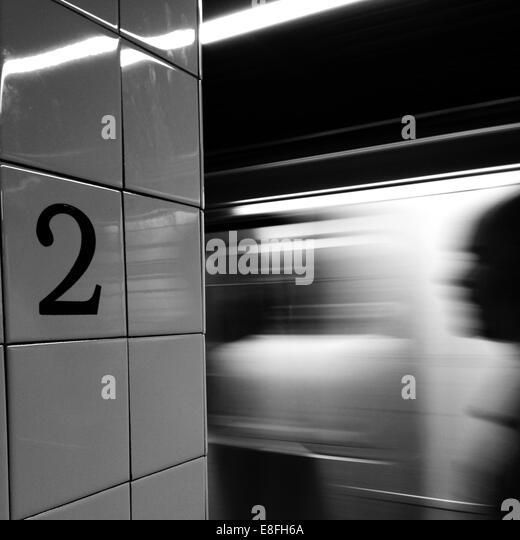 Subway station - Stock Image