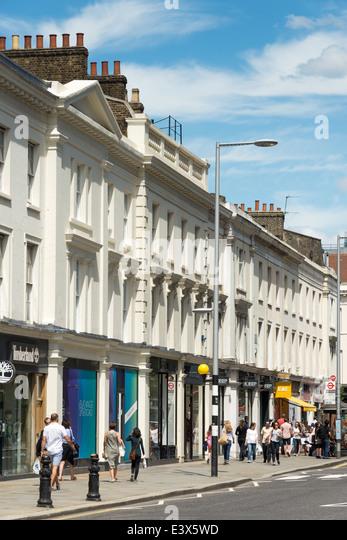 The King's Road, Chelsea, London, England, UK - Stock Image
