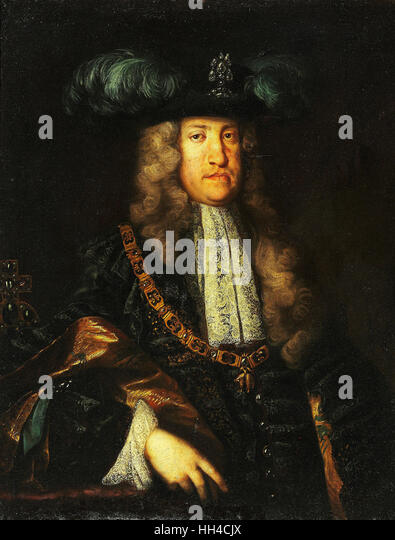 Kaiser Karl VI, Charles VI, (1685 ? 1740) Holy Roman Emperor,  King of Hungary and Croatia (as Charles III), and - Stock-Bilder
