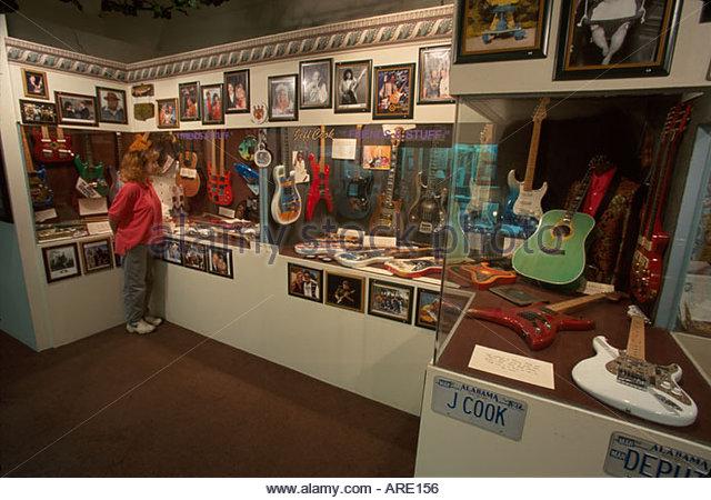 Alabama Fort Payne Alabama Fan Club Museum country music band hometown heros - Stock Image