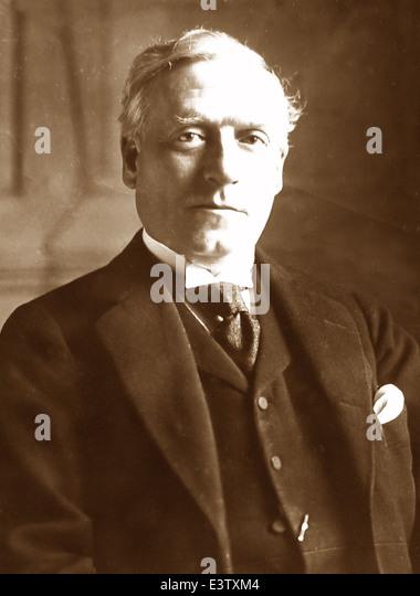 Henry Herbert Asquith British Prime Minister - Stock Image