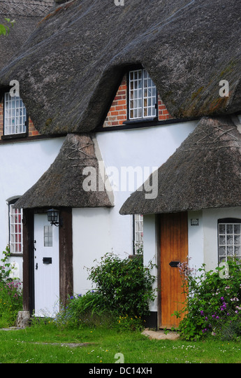 Thatched Cottage Cottages Porch Stock Photos Amp Thatched