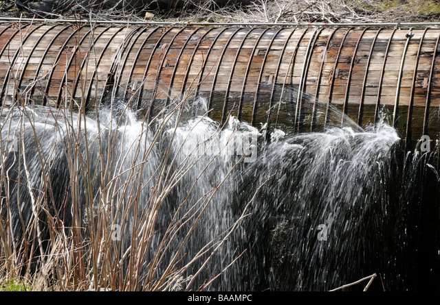 Penstock on hydro power plants colorado