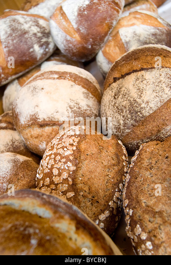 Bread loaves - Stock Image