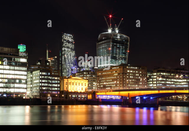 London, UK The City Of London - Stock Image