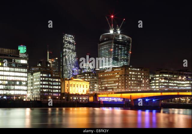 London, UK The City Of London - Stock Image