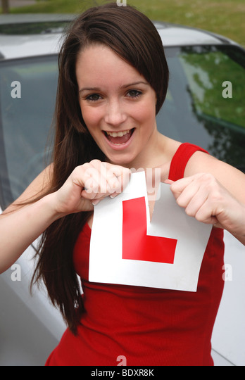 I've passed! - Stock Image
