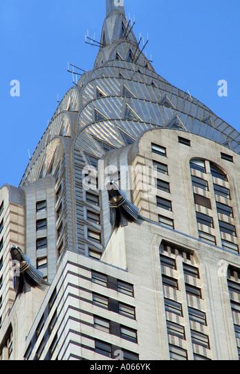 Chrysler Building, Manhattan New York - Stock Image