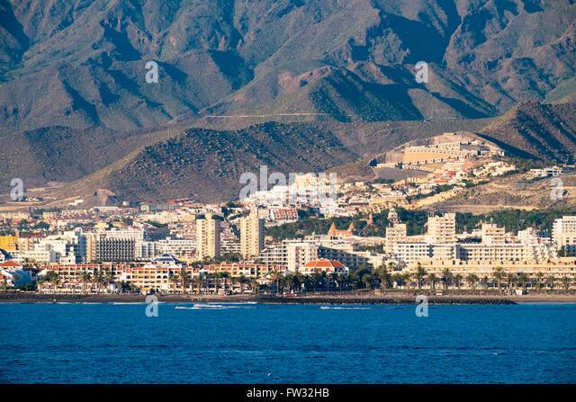 Playa de las Americas, Tenerife, Canary Islands, Spain - Stock-Bilder