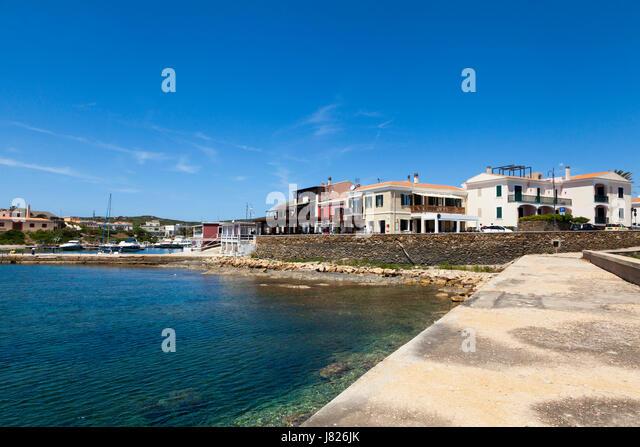 Marina at Stintino, Sardinia - Stock Image