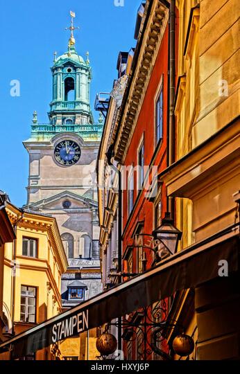 Stockholm Gamla Stan - Stock Image
