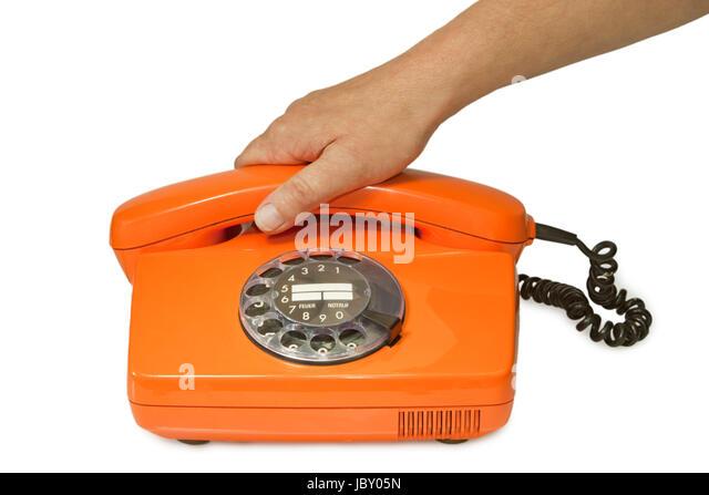 Telephone Caf Orange
