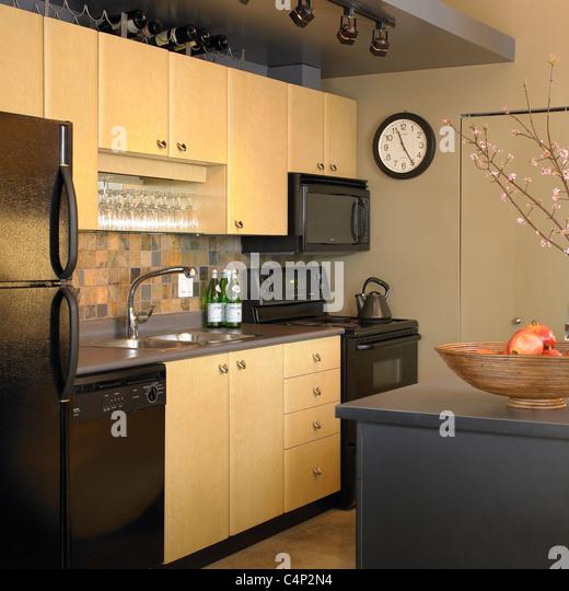 Kitchen Cabinet Doors Vancouver Bc: Refrigerator Doors Stock Photos & Refrigerator Doors Stock