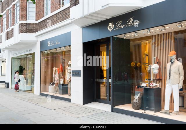designer shops london stock photos designer shops london stock
