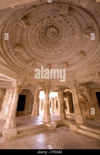 Chaumukha Temple, Ranakpur, Rajasthan, India, Asia - Stock-Bilder