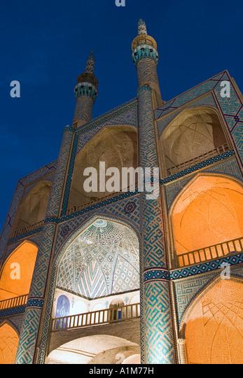 The Zoroastrian complex of Amir Chakmak, Yazd, Iran - Stock Image