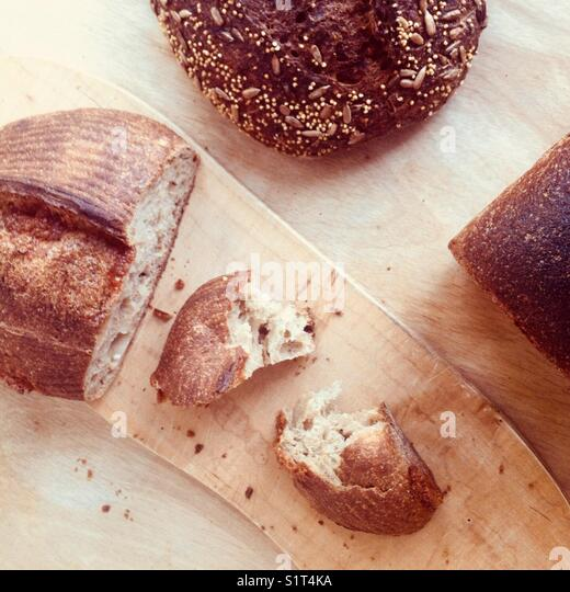 Artisanal bread - Stock Image